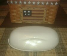 "Iroquois ""Casual"" 1/2 Pound Butter Dish by Russel Wright"