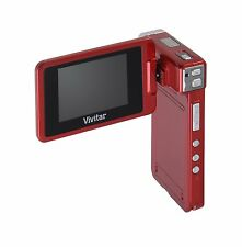 Vivitar dvr865hd 8.1mp Camcorder with 8x Digital Zoom (Red)