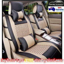 Summer Breathable Car Seat Covers Waterproof Mitsubishi Lancer Mirage asx