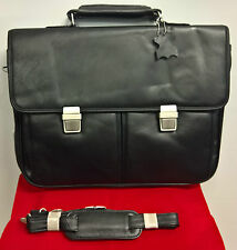 Vivanco Classic Leather Briefcase Laptop Case