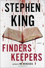 Finders Keepers: A Novel by Stephen King (Hardcover) NEW Halloween Book