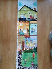 "Oopsy Daisy Maria Carluccio Child's ""Can Do Kids"" Canvas Growth chart"