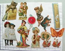 16 MISC CUT OUTS; GREYHOUND; BAY RUM; CIRCUS PERFORMER; 2 CIRCUS HORSE RING 1695