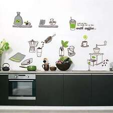 Fashion Cooking Tools Kitchen Decor Wall Sticker Home Decoration DIY Art Mural
