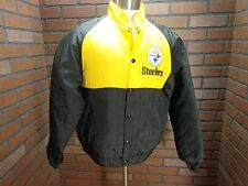 Vintage Swingster Owens/Corning Size M Pittsburg Steelers snap front jacket GUC