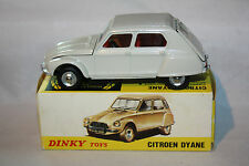 Dinky France #1413 Citroen Dyane, Mint in Mint Original Box