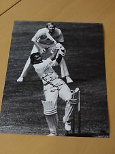 Signed Sunil Gavaskar India Cricket 12x8 Photo - Indian Cricket Legend