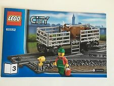 LEGO 60052 City Cargo Train - Cattle Car ONLY NEW unboxed set