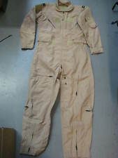USAF CWU-27/P NOMEX ARAMID DESERT TAN FLIGHT SUIT SIZE 40 SHORT GHOSTBUSTERS