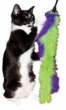 Cat Marabou Double Feather Boa Teaser Wand Cat Toy Made In USA