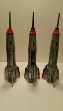 Skyexpress Spaceship Rocket Friction Tin Toy