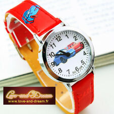 Montre Enfant - Rouge - Cars | Red Cars Child Watch