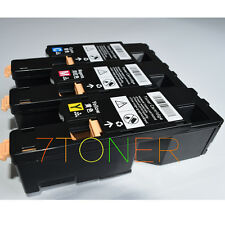 3 x Toner For Xerox Phaser 6010 6000 Workcentre 6015  106R01627 ~ 106R01629