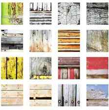 6x6 Scrapbook Paper Wood Patterns Photographic Style Elizabeth Craft Sample Pack