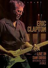 ERIC CLAPTON w JJ CALE New Sealed 2017 LIVE 2007 SAN DIEGO CONCERT BLU RAY