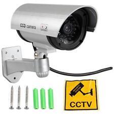 Camara de videovigilancia Falsa LED Dummy para Seguridad