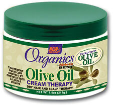 ORGANIC'S AFRICA'S BEST OLIVE OIL CREAM THERAPY /DRY HAIR & SCALP THERAPY 7.5oz