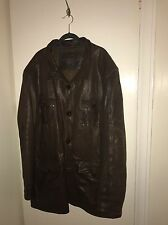 Men's XXL Rocha John Rocha Leather Jacket