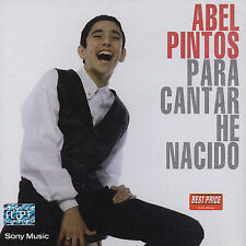 Para Cantar He Nacido by Abel Pintos (CD, Oct-2004, Sony) NEW SEALED