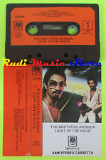 MC THE BROTHERS JOHNSON Light up the night 1980 italy A&M CKM63716 cd lp dvd vhs