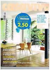 CASAVIVA - N.455 - 2011 - CERAMICHE VIETRI - RUSTICO  SARDEGNA - BALCONI - FICO