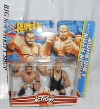 WWE Rumblers Mason Ryan and Big Show 2 Pack Mattel Mini Action Figures