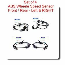4 ABS Wheel Speed Sensor Front-Rear - Left & Right Fits Caliber Compase Patriot
