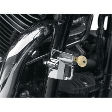 Lucchetto Casco Cromato Tubi Telaio Fino a 38MM Moto Harley Sportster Dyna 883