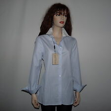 New Burberry London  Pale Blue Shirt  Size 4