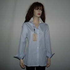 New Burberry London  Pale Blue Shirt  Size 6