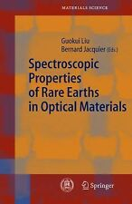 Spectroscopic Properties of Rare Earths in Optical Materials 83 (2010,...