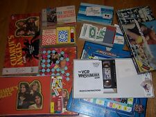 4 Old TV Board Games Vintage Charlies Angels The Beverly Hillbillies Newlywed