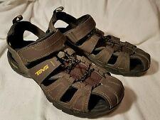 Men's Brown Teva Sandals Waterproof Hiking ShocPad Size 9