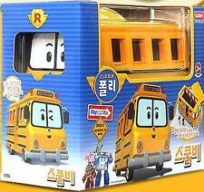"Robocar Poli ""SCHOOL BI"" Big Size bus with Mini Figure /Academy/Toy/Diecast/kids"