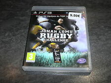 JEU PS3 JONAH LOMU RUGBY CHALLENGE COMPLET TRU BLU GAMES OCCASION