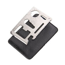 New 11 Function Credit Card Size Survival Pocket Tool * US FREE SHIPPING *