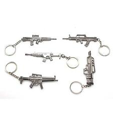 New Popular Counter Strike AK47 Guns Key Ring Alloy Keychain Metal Keyring Chain