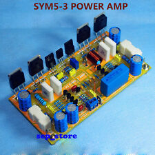 DIY Mono Classic Symasym5-3 Discrete Power amplifier kit 200W AMP Kit   L163-2