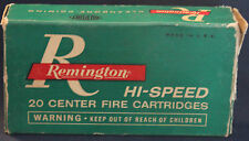 Original Vintage Remington 30-30 Winchester Soft Point Shell Empty Box