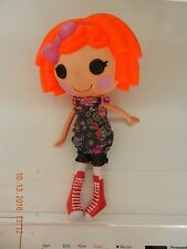 "Lalaloopsy 13"" Sunny Side Up Twin Farmer Girl Orange Hair Outfit & Shoes"
