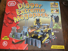Chad Valley - Digger Extreme Mega Pack - 359 Piece Set - Suitable Age 6+