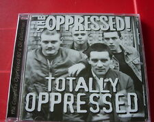 The Oppressed! Totally Oppressed CD NEW SEALED 1999 Punk Oi! Skinhead