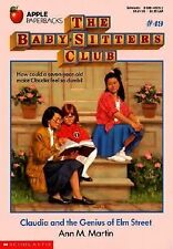 Claudia and the Genius of Elm Street (Baby-Sitters Club (Quality))