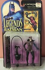 NIB  1994 DEADSTOCK KENNER LEGENDS of BATMAN CATWOMAN  FIGURE & Collector's Card