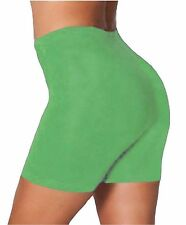 LADIES WOMENS CYCLING SHORTS DANCING SHORTS LYCRA LEGGINGS ACTIVE CASUAL 8-26