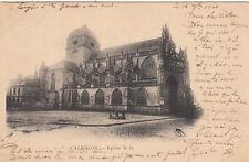 ALENCON église timbre noir 10 cent. 1901