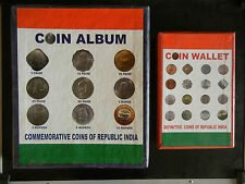 1950 TO 2015 - 193 COINS - REPUBLIC INDIA COIN COLLECTION WITH ALBUMS #9