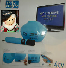 The Singing Machine Karaoke Machine 4tv MP3 CD+G USB  Mic & Speaker NEW choice