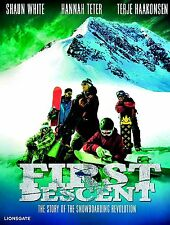 NEW DVD // First Descent // SNOWBOARD //  Shaun White, Hannah Teter, Shawn Farme