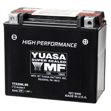 NEW MAINTENANCE FREE YUASA SEALED  BATTERY YTX20H-BS ATV ARCTIC CAT HARLEY